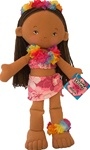 "15"" MALIA SOFT HAWAIIAN HULA DOLL"