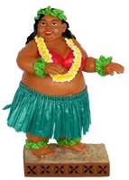"4"" SWEET WAHINE DASHBOARD DOLL"