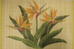 BAMBOO PLACEMAT - BIRD OF PARADISE