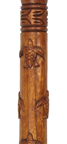 41 Quot Hand Carved Honu Turtle Walking Stick