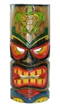 "12"" WOOD HONU TURTLE TIKI MASK"
