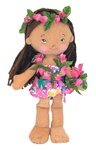 "8.5"" MALAIA HAWAIIAN DOLL"