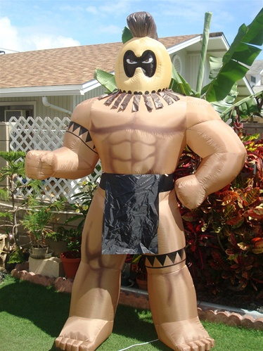 Giant 8 Foot Inflatable Hawaiian Warrior