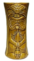 KU KAILI MOKU TIKI MUG - LARGE - BROWN - LIMITED EDITION