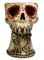 AMOR ETERNO DAY OF THE DEAD SKULL MUG - LIMITED EDITION