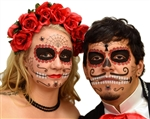 RUBY SUGAR SKULL DAY OF THE DEAD FACE TATTOO KIT (1)