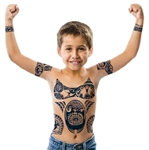BOYS MAUI DISNEY MOANA BODY TATTOOS