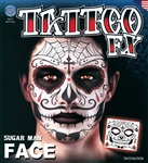 SUGAR MAN DAY OF THE DEAD FACE TATTOO KIT (1)