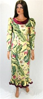 BARKCLOTH FLORAL HOLOMU - SIZE X-SMALL - PRE-OWNED