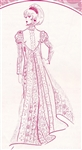 VINTAGE VICTORIAN DRESS PATTERN - Size 12 - Pacifica 3022
