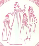 VINTAGE UNCUT MUUMUU DRESS PATTERN - Size Small - Pacifica 3072