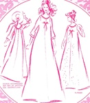 VINTAGE UNCUT PLEATED BACK MUUMUU DRESS PATTERN - Size 14 - Pacifica 3003
