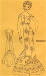 RARE UNCUT VINTAGE HAWAIIAN FITTED DRESS PATTERN - SIZE 18 - Polynesian 112
