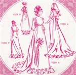 VINTAGE UNCUT HOLOKU WEDDING DRESS/MUUMUU PATTERN - ALL SIZES - Pacifica 3009