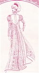 VINTAGE VICTORIAN DRESS PATTERN - Size 6 - Pacifica 3022