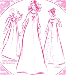VINTAGE UNCUT PLEATED BACK MUUMUU DRESS PATTERN - Sizes 10, 14, 18 - Pacifica 3003