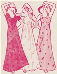 VINTAGE UNCUT MUUMUU DRESS PATTERN - SIZES 8, 12, 16 - Pacifica 3202