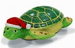HOLIDAY HONU RESIN ORNAMENT