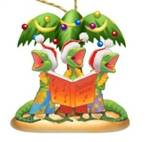GECK THE HALLS RESIN ORNAMENT