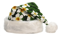 TROPICAL SANTA HAT - GREEN