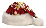 TROPICAL SANTA HAT - RED