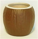 LARGE CERAMIC COCONUT MUG / Case of 36
